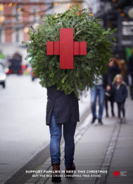 Danish Red Cross: Christmas Supporter [image] Direct marketing by Hjaltelin Stahl