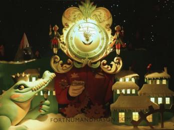 Fortnum & Mason: Christmas Windows, 14 Outdoor Advert by Otherway