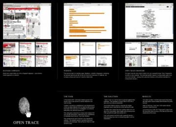 Arbeitskreis: Fingerprints Digital Advert by Nordpol Hamburg