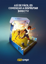 DirecTV: It's that easy to start enjoying with DIRECTV, 1 Print Ad by Grey Colombia
