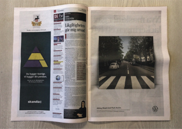 Volkswagen: Abbey Road with Park Assist, 2 Print Ad by DDB Stockholm