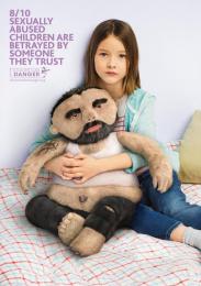 Innocence En Danger: Pedophile Teddy Bears- Father Print Ad by Rosapark Paris, Wanda Productions