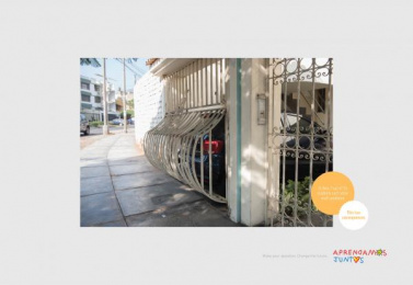 Aprendamos Juntos ONG: Extended Garage Print Ad by Y&R Lima