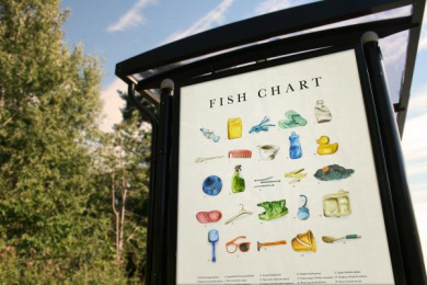 The West Coast Foundation: Fish Chart 2050, 1 Outdoor Advert by Stendahls
