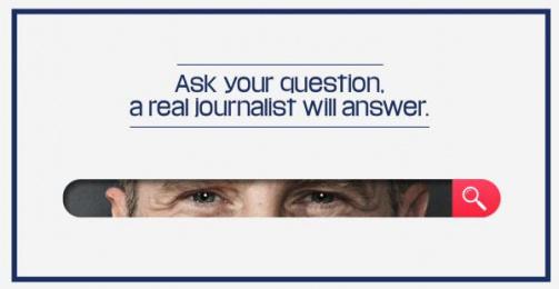 CheckNews.fr: Visual Mini Digital Advert by J. Walter Thompson Paris