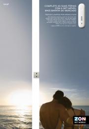 Zon: 2 Print Ad by BBDO Lisbon