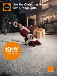 Orange: Zen fiber Print Ad by Iconoclast, Prodigious, Publicis Conseil Paris