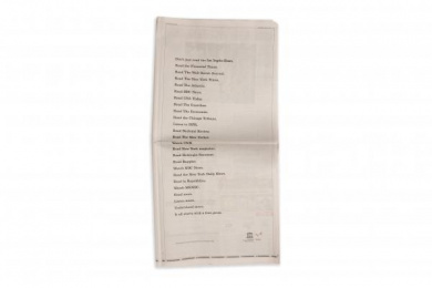 Unesco: Read more. Listen more. Understand more., 3 Print Ad by Droga5 New York
