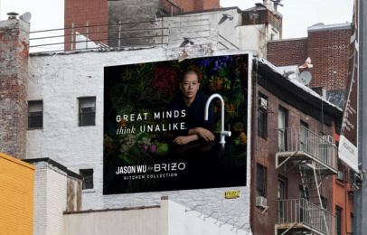 Brizo: Jason Wu for Brizo, 2 Outdoor Advert by Young & Laramore
