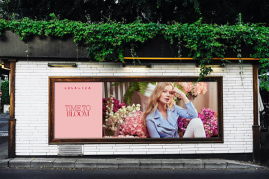 LolaLiza: Time to Bloom, 3 Outdoor Advert by Misterwilson