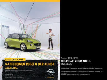Opel: Your car. Your rules Print Ad by Scholz & Friends Hamburg