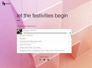 Havas Worldwide: Let the festivities begin Digital Advert by Havas Worldwide New York