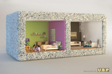 UBP Building Materials: BLOCKS TO BUILD FOR LIFE Print Ad by Circus Advertising Maurice