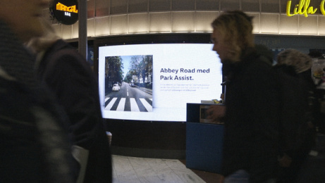 Volkswagen: Abbey Road with Park Assist, 5 Outdoor Advert by DDB Stockholm