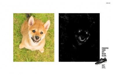 Umbro: Puppy Print Ad by Escala