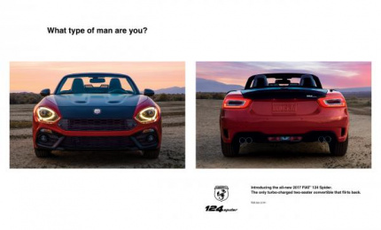 Fiat: What Type of Man Are You? Print Ad by FCB Chicago