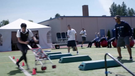 Alaska Airlines: Training Camp with Russell Wilson Film by Station Film, Wongdoody