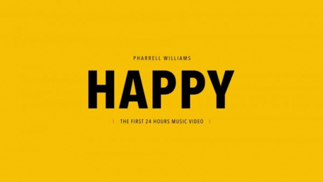 Universal Studios: PHARRELL WILLIAMS - 24 HOURS OF HAPPY Digital Advert by Iconoclast