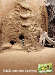 Zoologischer Garten Berlin: Mongoose Outdoor Advert by Scholz & Friends Berlin