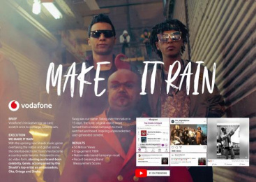 Vodafone: MAKE IT RAIN [image] Film by J. Walter Thompson Cairo, Bigfoot Films