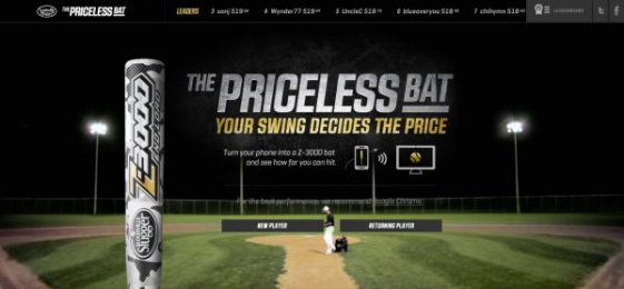 Louisville Slugger: The priceless bat Digital Advert by Taxi Canada