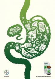 Iberogast: Stomach Print Ad by PKP BBDO Vienna