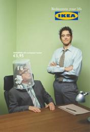 IKEA: WASTEBASKET Print Ad by *S,C,P,F... Madrid