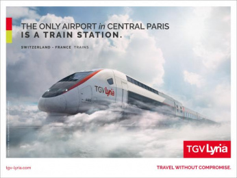 Tgv: Day Outdoor Advert by Change Paris