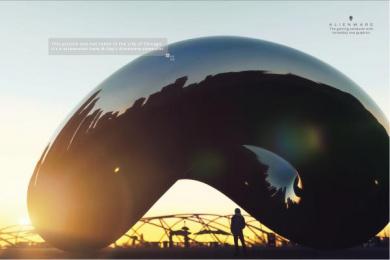Dell AlienWare: Alienware Screenshot Chicago Print Ad by Y&R Miami