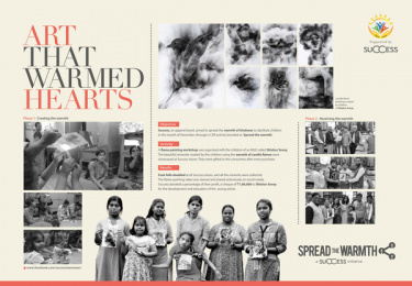 Success Menswear: Spread the Warmth Print Ad by SoS Ideas Kolkata