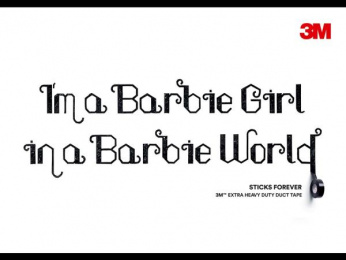 3M: Barbie Girl, 3 Outdoor Advert by Cheil Germany