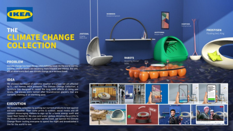 IKEA: The Climate Change Collection, 1 Print Ad by Miami Ad School Hamburg