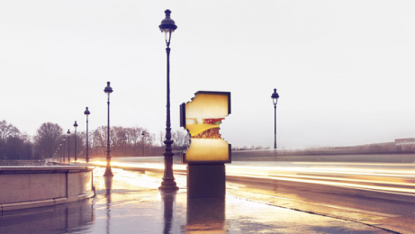 McDonald's: No Logo, 3 Outdoor Advert by TBWA Paris, ELSE Paris