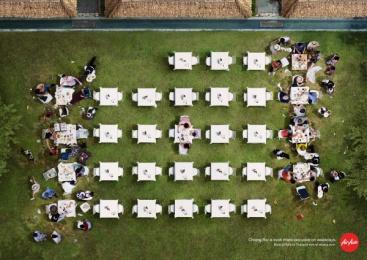 AirAsia: Resort Print Ad by BBDO Bangkok