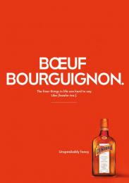 Remy Cointreau: Boeuf Bourguignon Print Ad by McCann Prague