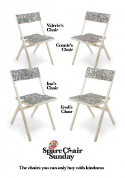 Bisto: Spare Chair Sunday, 2 Print Ad by Craft, McCann London