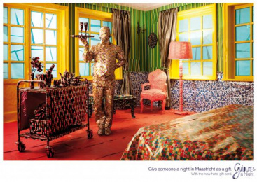 HOTEL GIFTCARD: Maastricht Print Ad by Lowe@Alfred Amsterdam