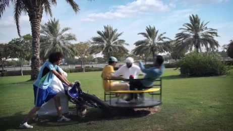 Wavo: Motor Carousel Film by Misfits Content Creators Dubai, Montage TV Productions