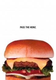 Heinz: Burger Print Ad by DAVID Miami, Sterling Cooper Draper Pryce