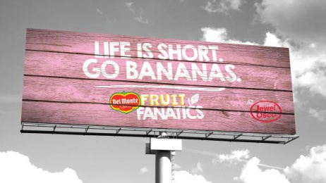 Fresh Del Monte Produce: Fruit Fanatics, 2 Outdoor Advert by quench Harrisburg