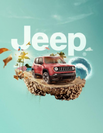 Jeep: Renegade Print Ad by Gitanos Studio