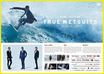 Quiksilver: True Wetsuits Direct marketing by Taiyo Kikaku Co., TBWA\Hakuhodo Tokyo