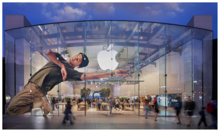 AirPods Pro: AirPods Pro, 6 Outdoor Advert by Apple Cupertino, TBWA\Media Arts Lab Los Angeles