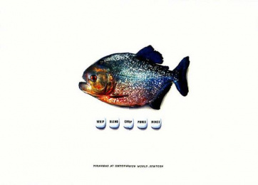Underwater World: BUTTONS Print Ad by Dmb&b