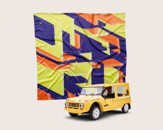 Citroen: Citroën Scarves, 2 Print Ad by BETC São Paulo