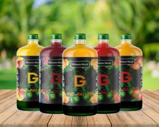 Minute Maid: GR Bottle, 3 Design & Branding by Miami Ad School Miami