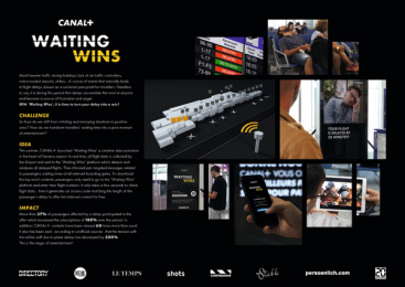 Canal+: Waiting Wins - Board Case study by Havas Village Genève