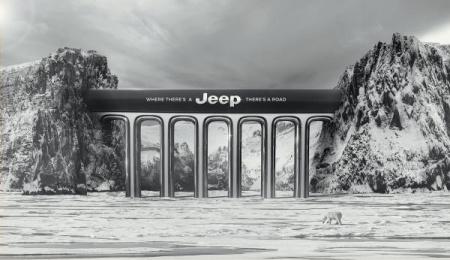 Jeep: Bridge, 1 Print Ad by JeffersonAndSon