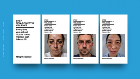 Saatchi & Saatchi: Stop non-domestic violence, 2 Digital Advert by Saatchi & Saatchi Croatia