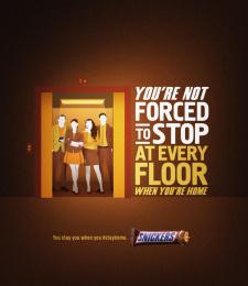 Mars: Elevator Print Ad by BBDO GUERRERO, MANILA